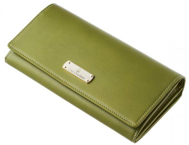 緑色のレディース財布『カルメリーナロザリア』