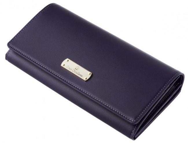 紫色のレディース財布『カルメリーナロザリア』