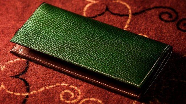 ロッソピエトラ薄型長財布